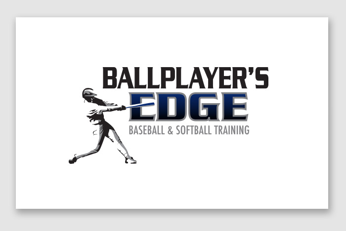 Ballplayer's Edge Logo Design